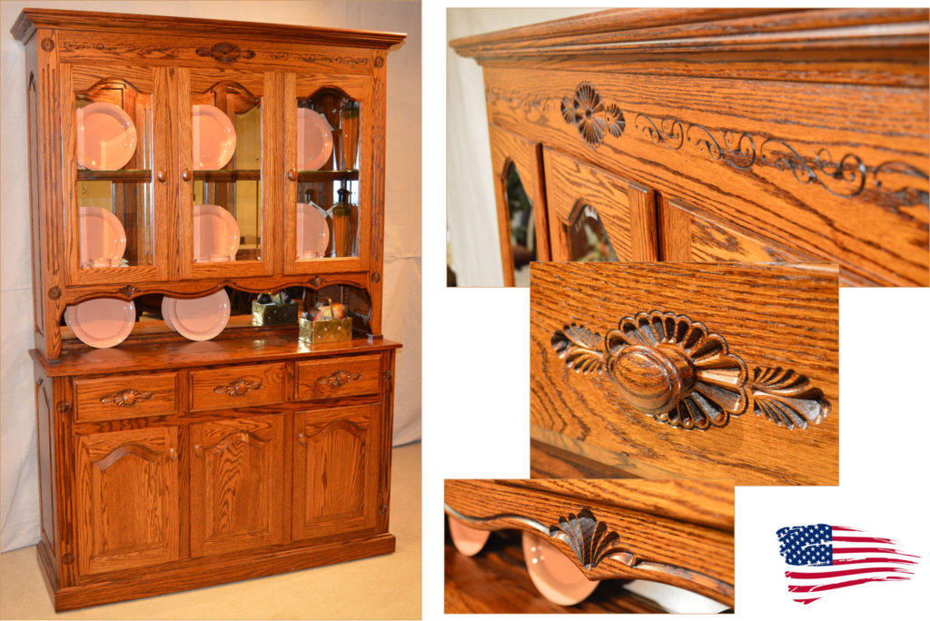 Amish Buffet & Hutch Regal Deluxe