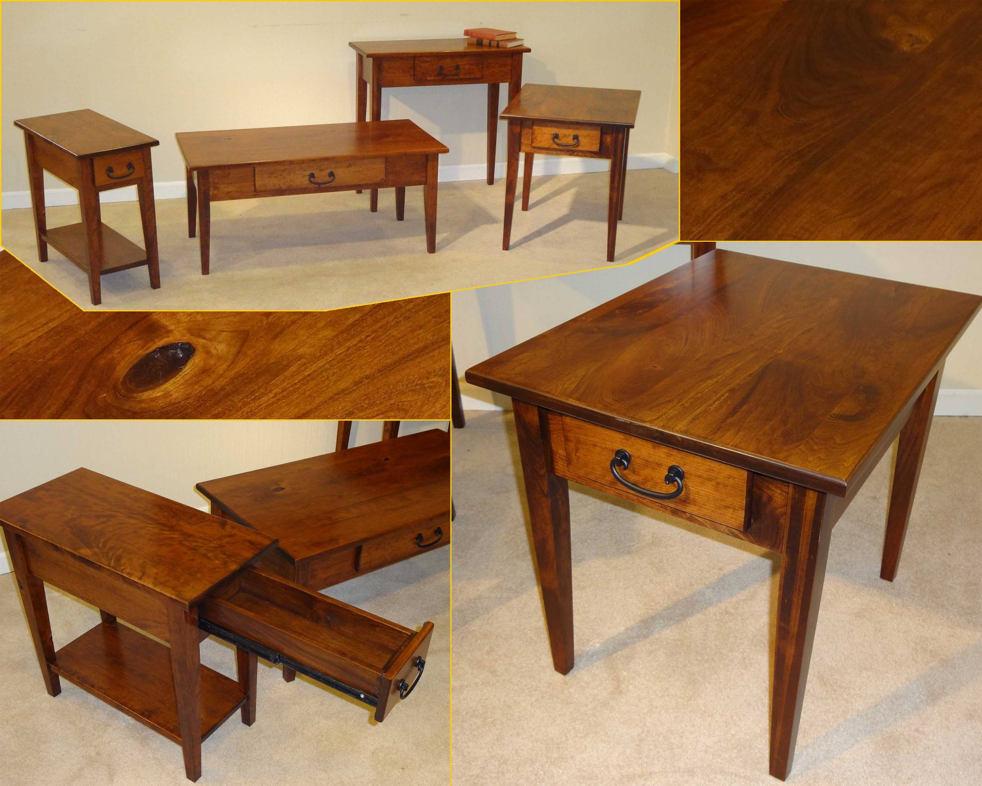 Made in the usa amish furniture gallery custom tattoo for Custom made furniture