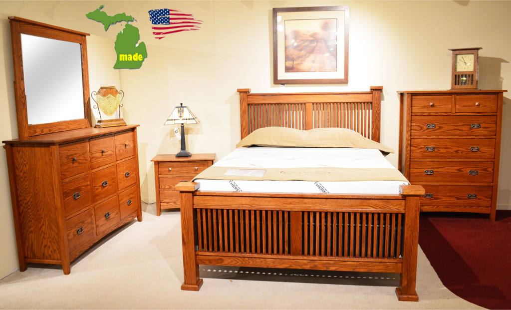 michigan mission bedroom