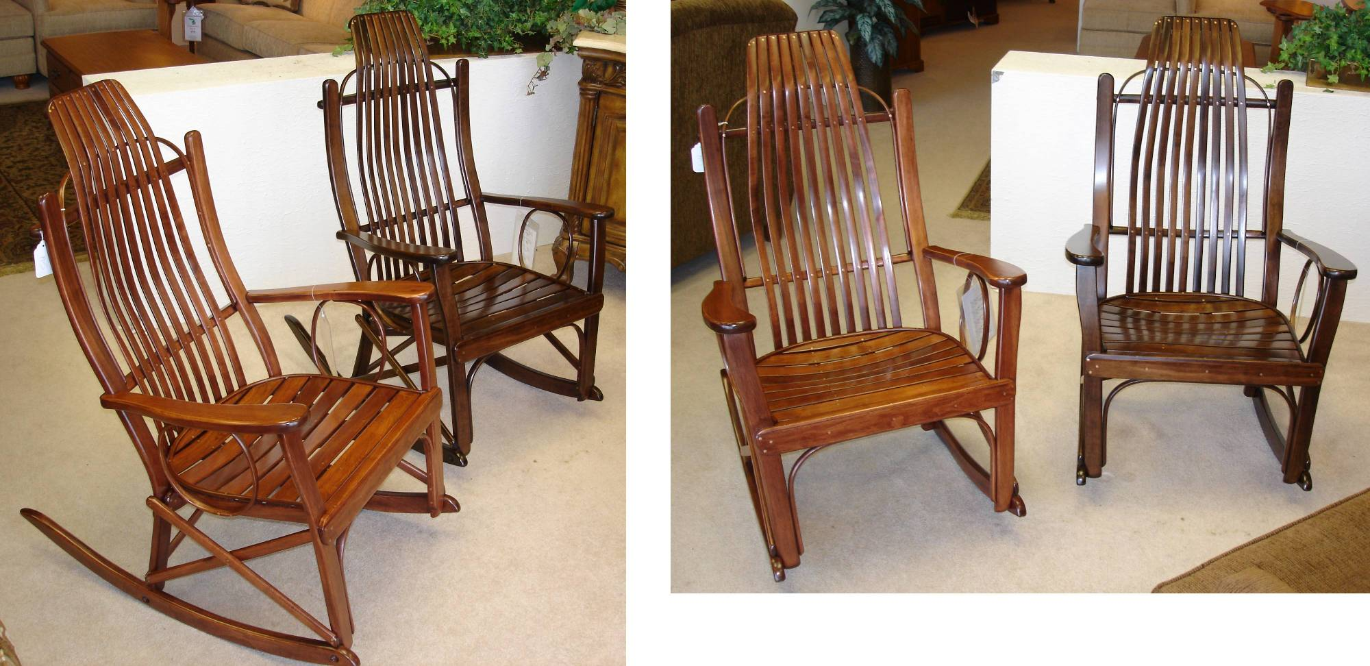Amish Rocking Chair Jasen S Furniture Roseville Michigan