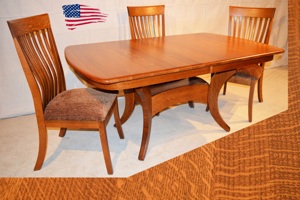 Amish Dining Table Michigan Galveston Table