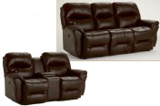 Best Bodie Leather Reclining Sofa
