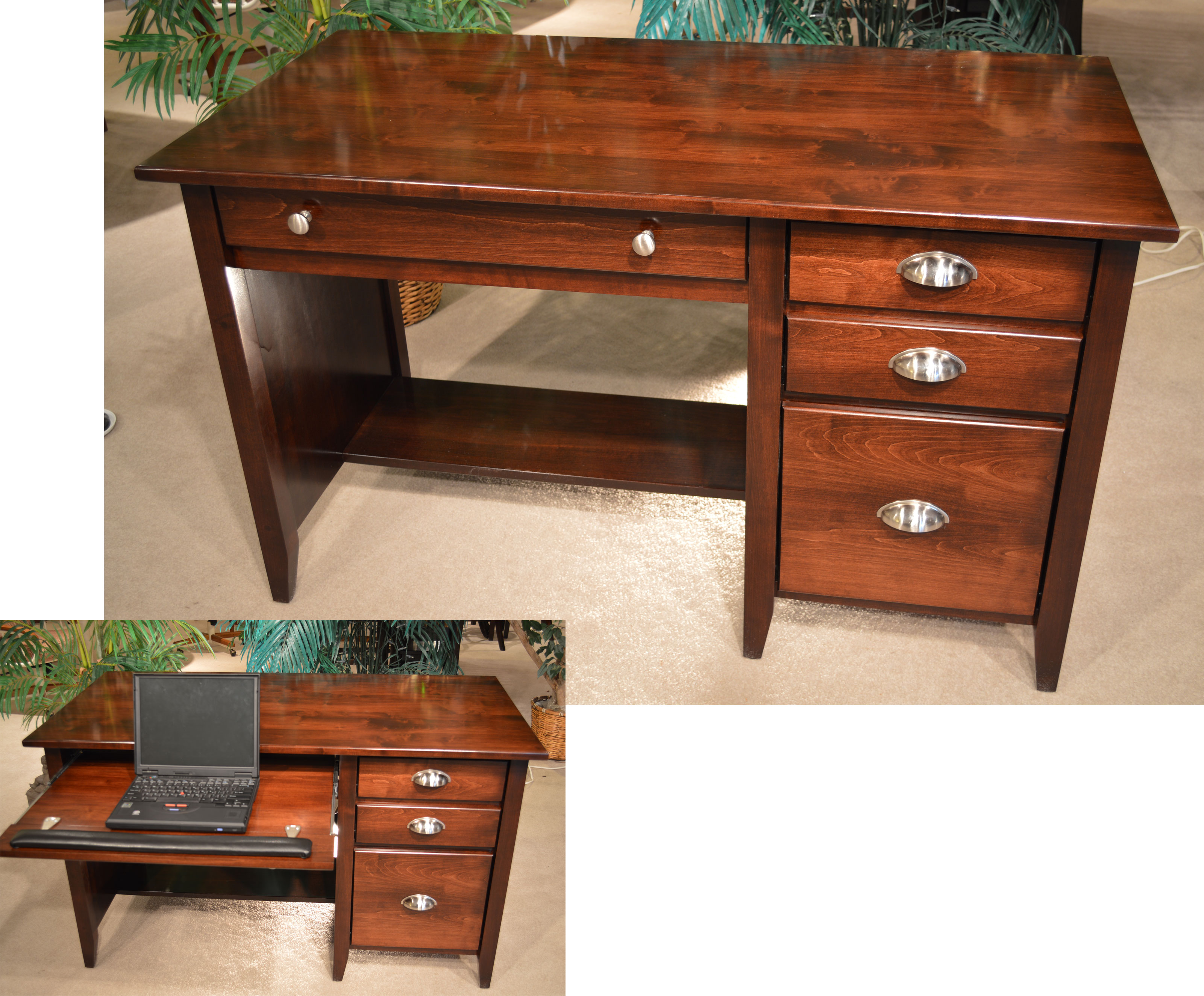 view wood with brighton larger desk amazon high winsome dp drawer ca brown