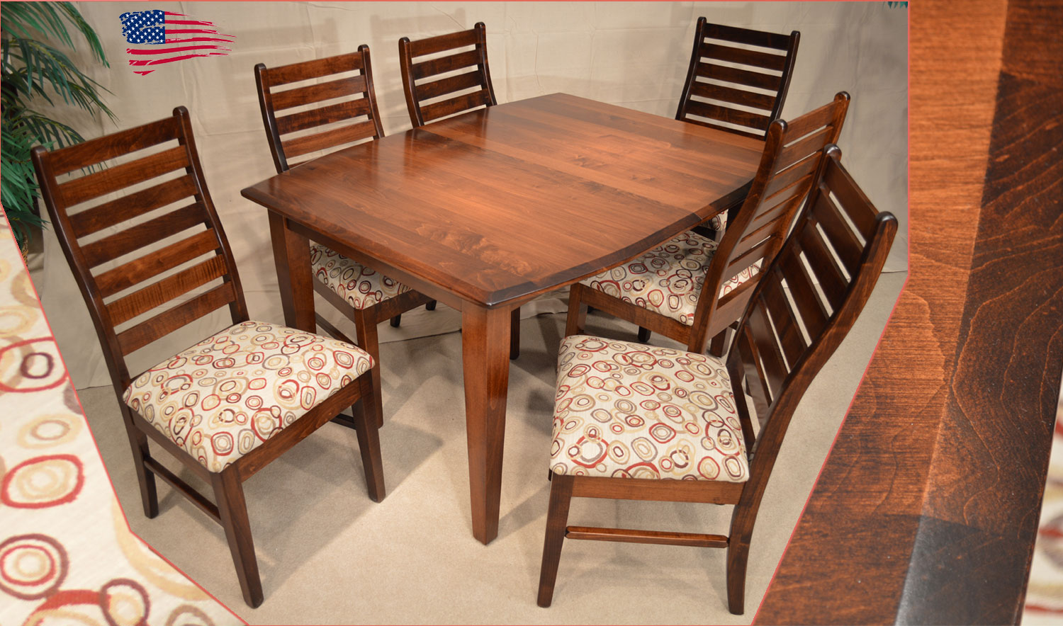 Image result for Amish Dining Furniture