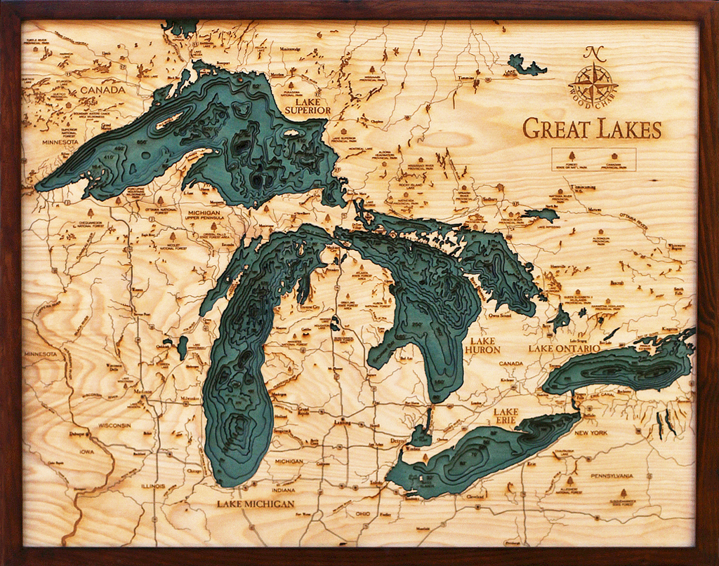 Great Lakes Wood Chart Grl D3l Jasen S Furniture St