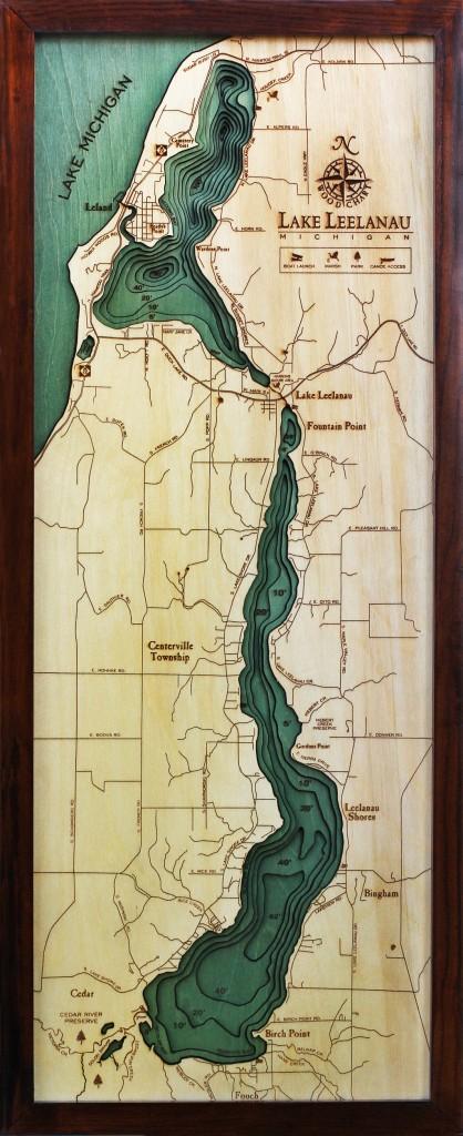 lake leelanau wood chart