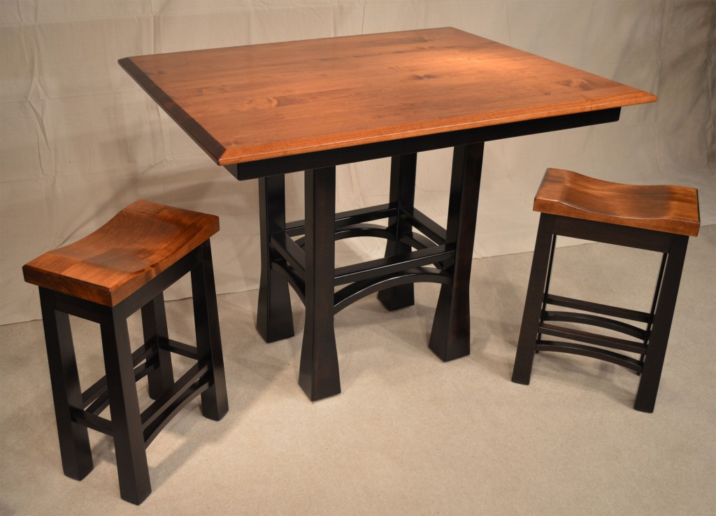 Amish Madison Pub Table Jasen S Furniture Grosse Pointe