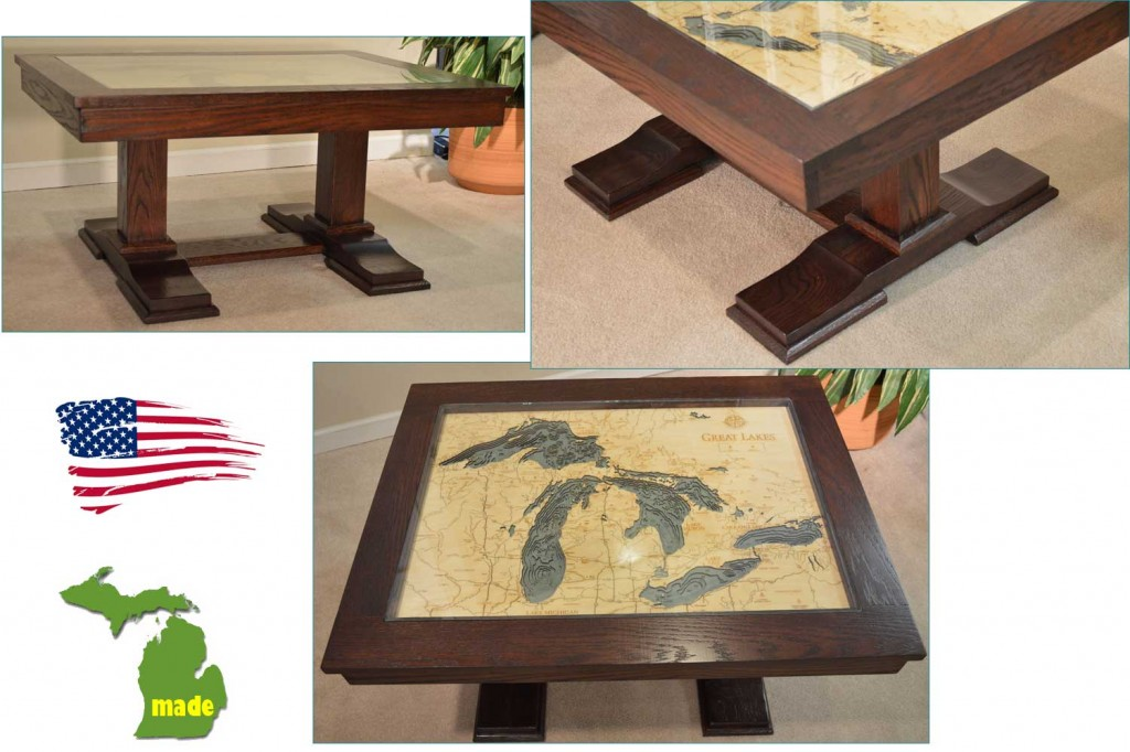 Made in Michigan Great Lakes Table