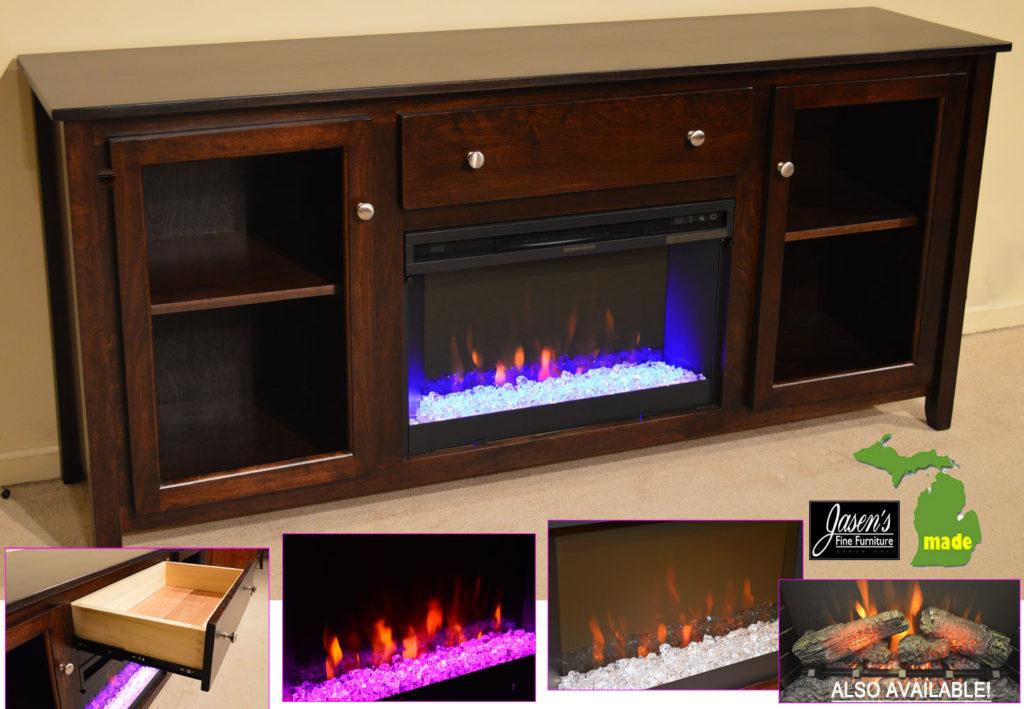michigan made contempo fireplace