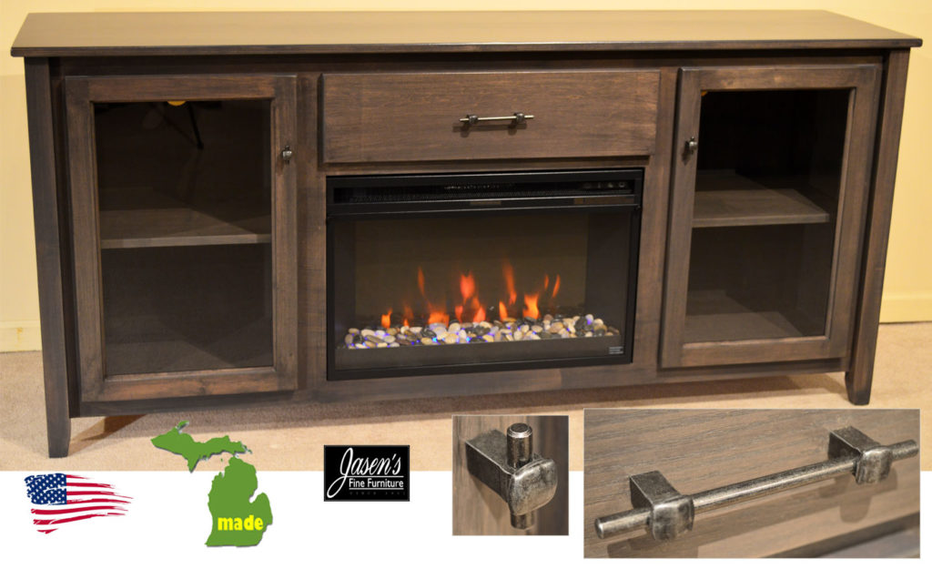 Michigan Made Contempo Fireplace