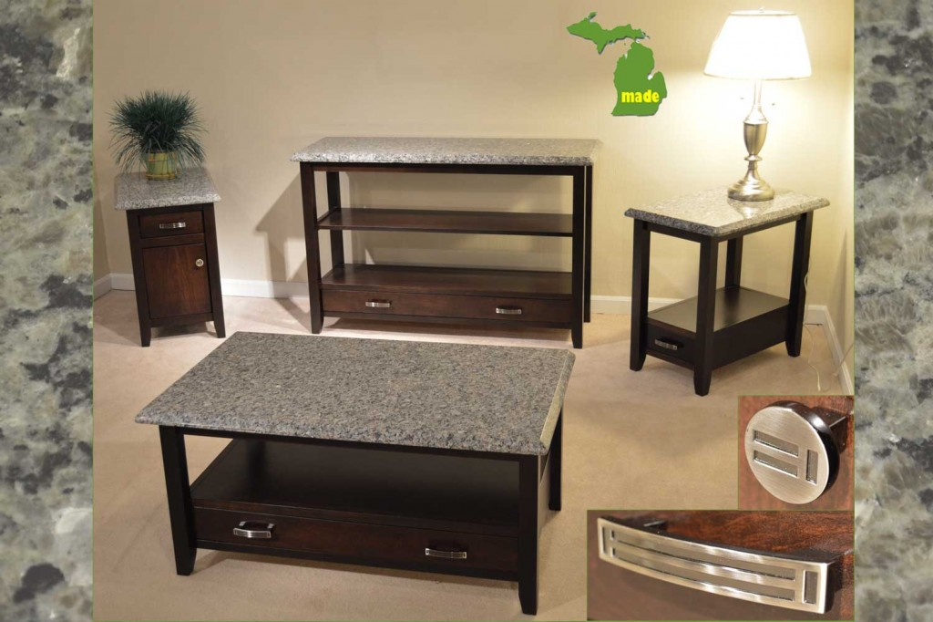 michigan granite tables