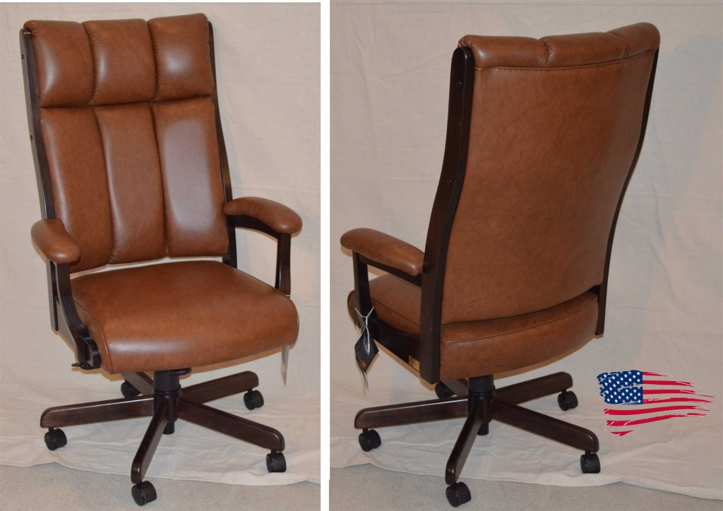 Amish Executive Office Chair
