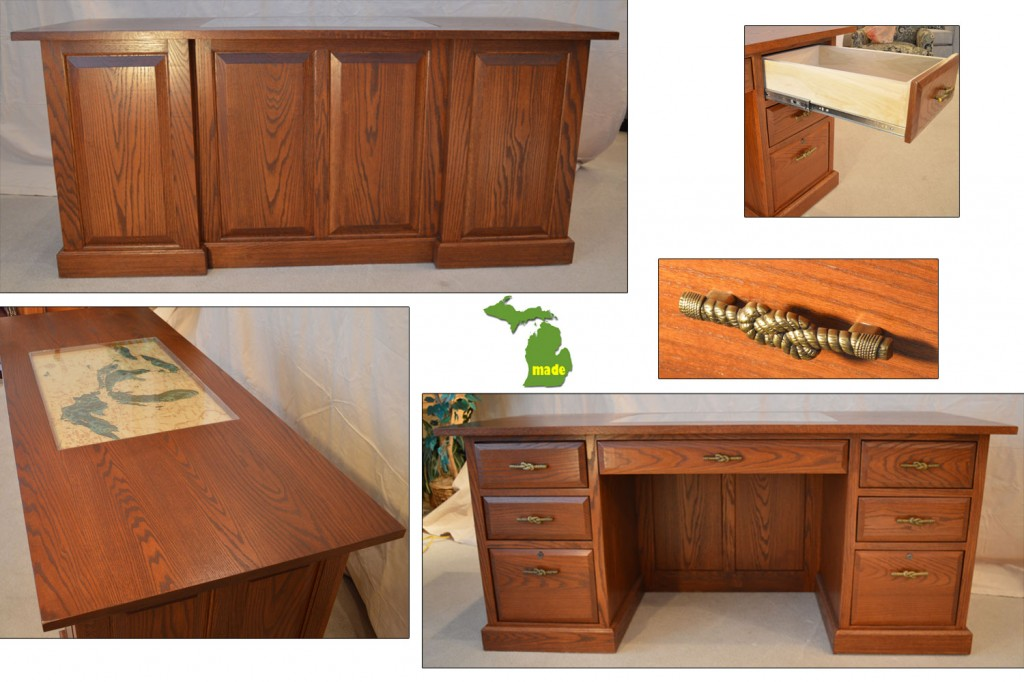 Michigan Great Lakes Executive Desk