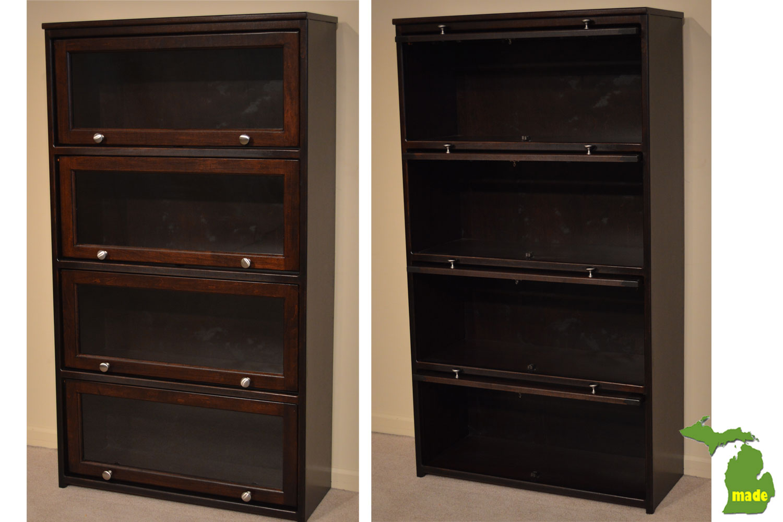 Michigan Barrister Bookcase Jasen S Fine Furniture