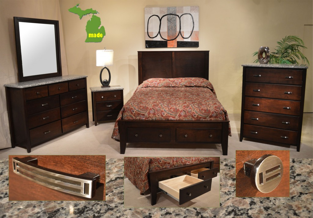 Michigan Granite Contempo Bedroom - Jasen\'s Fine Furniture ...
