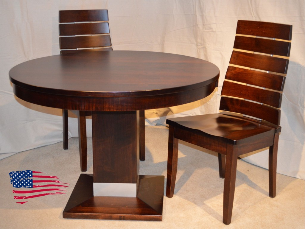 Amish Dining Table Chairs Oak Jasen S