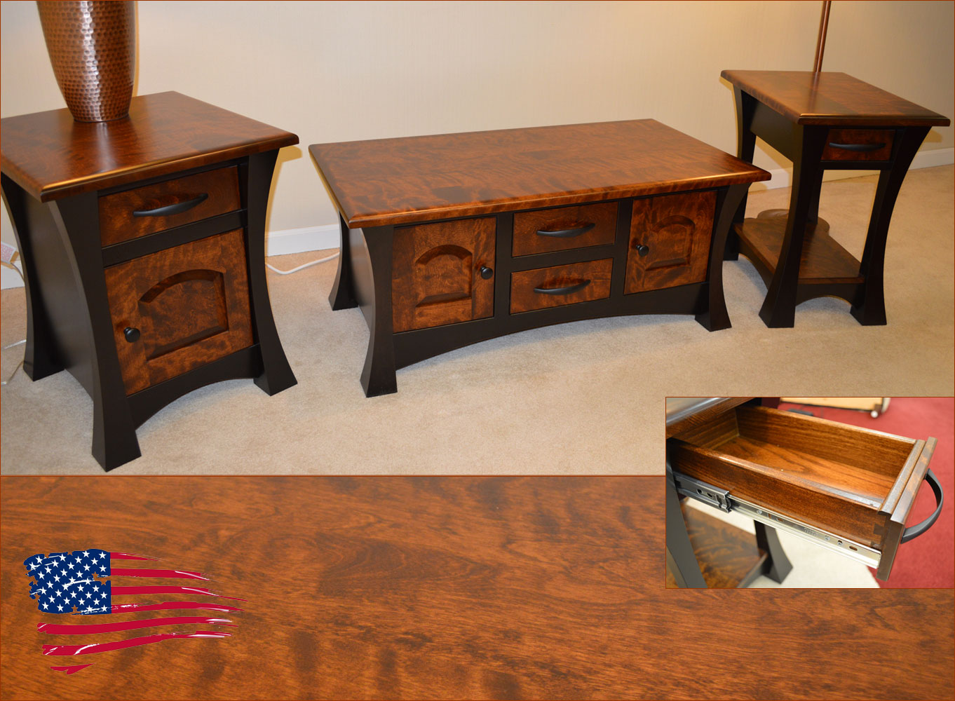 Amish Elmo Tables Jasen S Fine Furniture Since 1951
