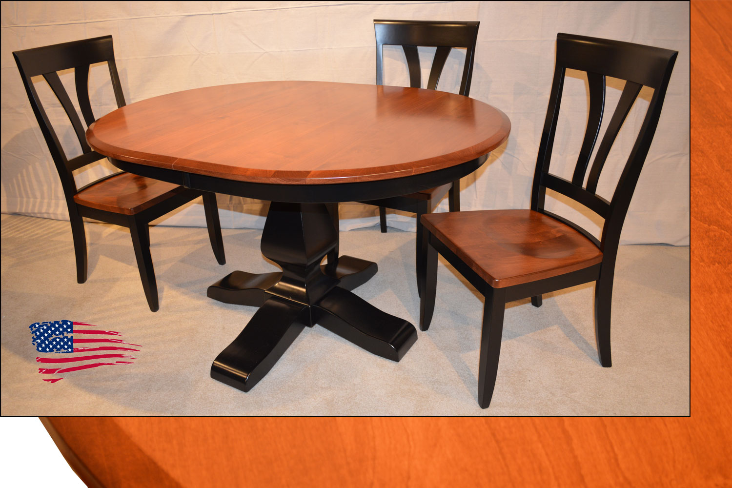 amish french style table - Jasen's Fine Furniture- Since 1951