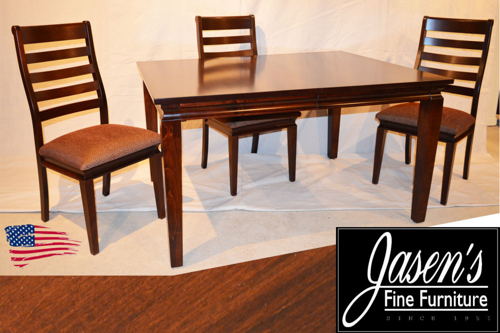 amish transitional table