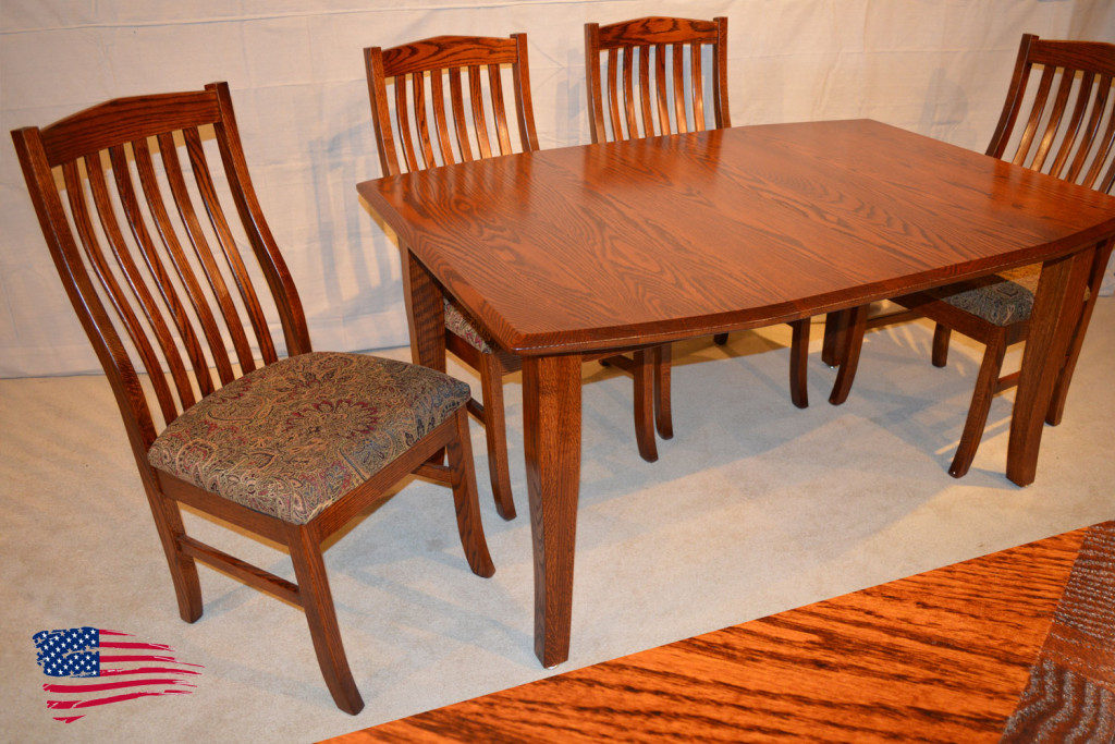 Amish oak dining table jasen s fine furniture since