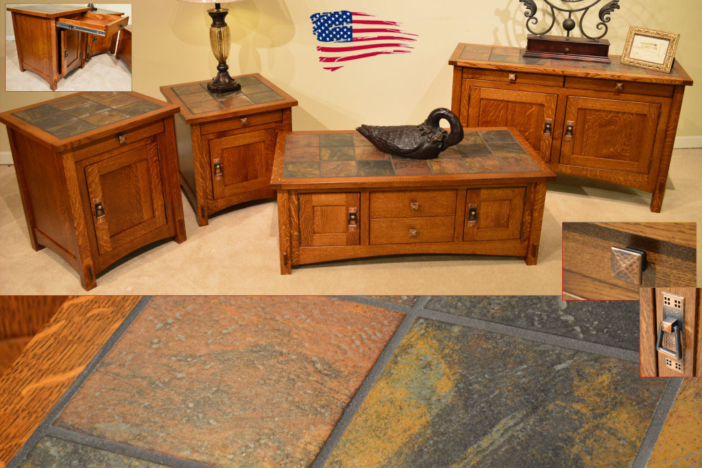 Amish Tile Top Tables