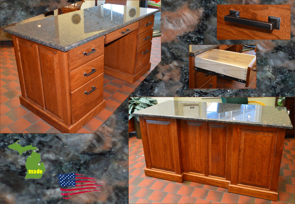 michigan executive granite desk