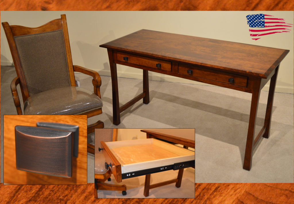 amish cherry desk