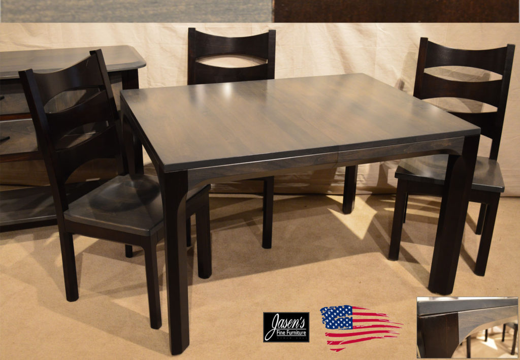 amish columbo dining table