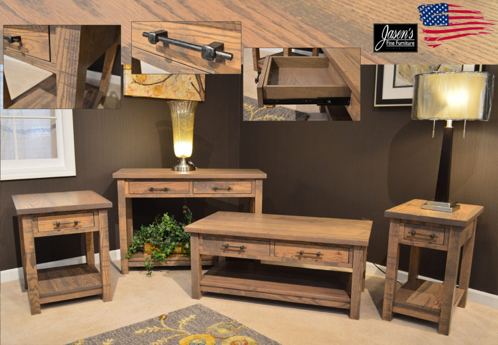 amish rustic tables
