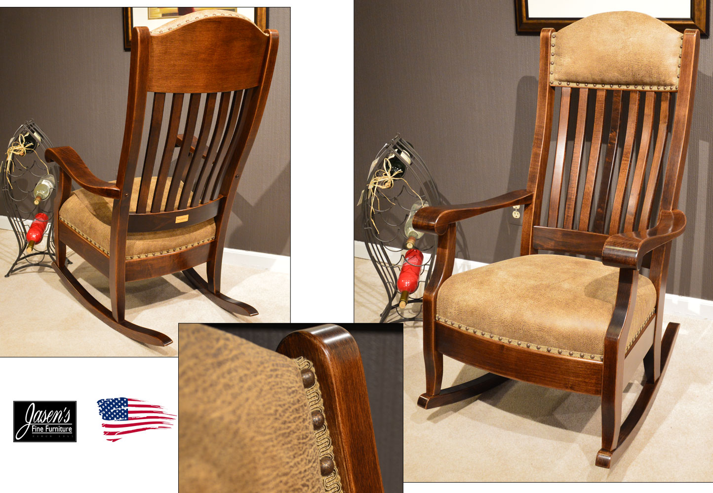 Amish Traditional Rocker Jasen S Fine Furniture Since 1951