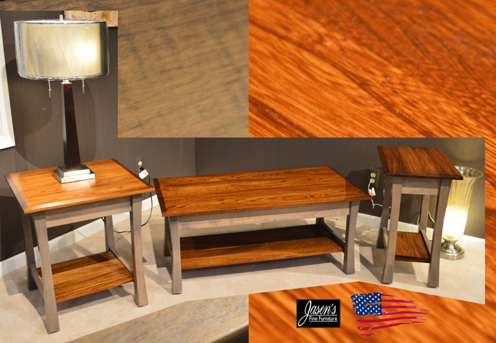 Amish Elm Tables