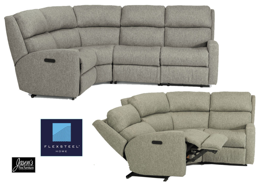flexsteel catalina sectional