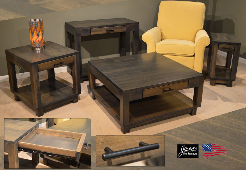 amish urban gray tables