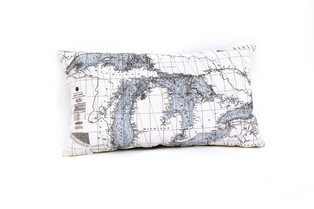 great lakes lumbar pillow