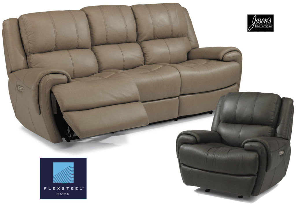 Flexsteel Leather Sofa Blake