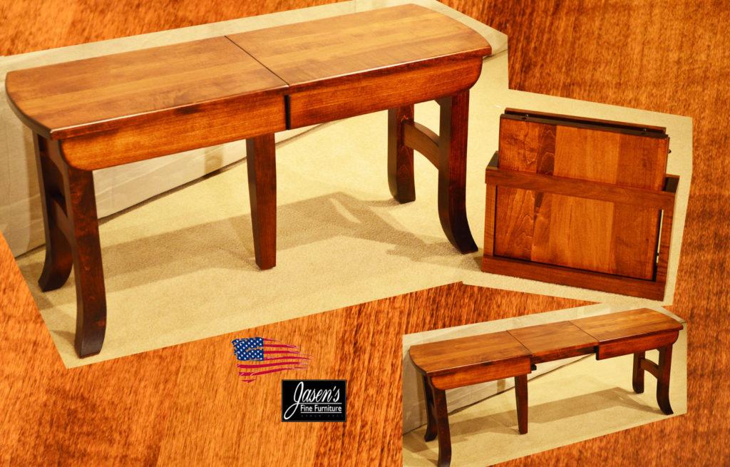 amish galveston bench