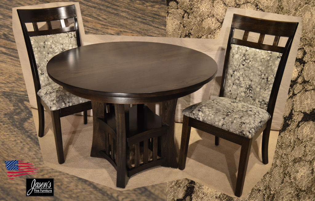 amish elm dining table