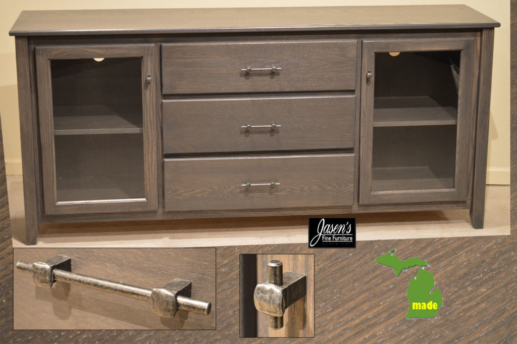 michigan three drawer contempo