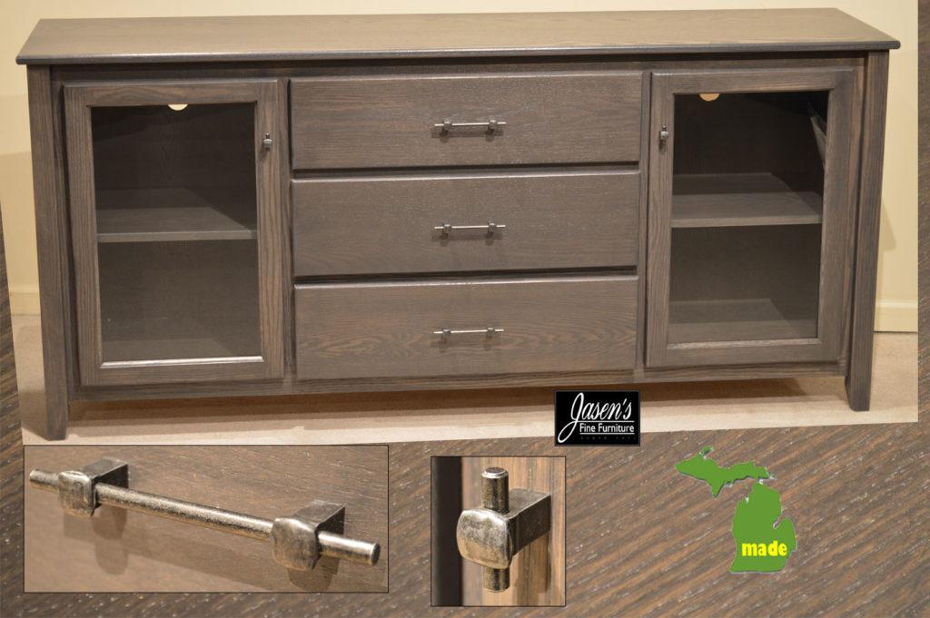 michigan three drawer contempo