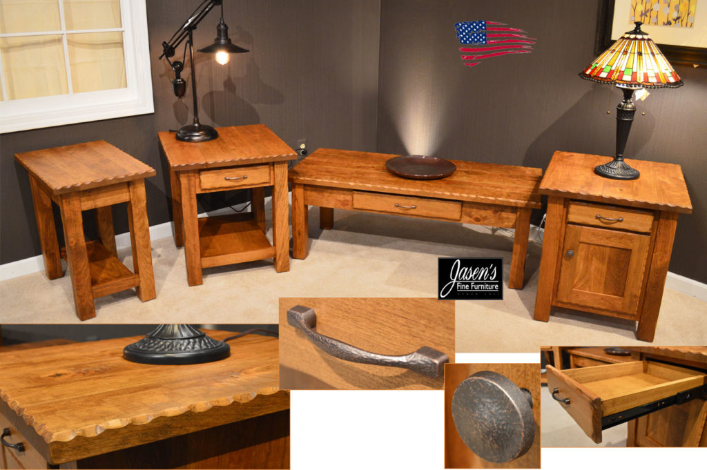 amish hewn tables