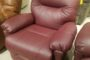 Best Zaynah Burgundy Recliner