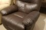 Best Wanderer Brown Leather Recliner