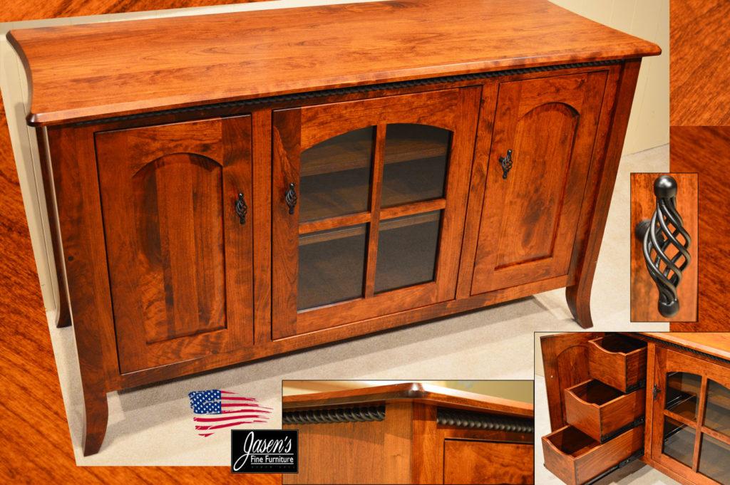 amish carlisle tv stand