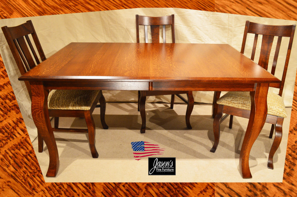 amish cheval table