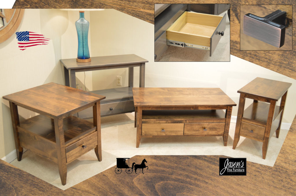 Amish Manhattan LO tables