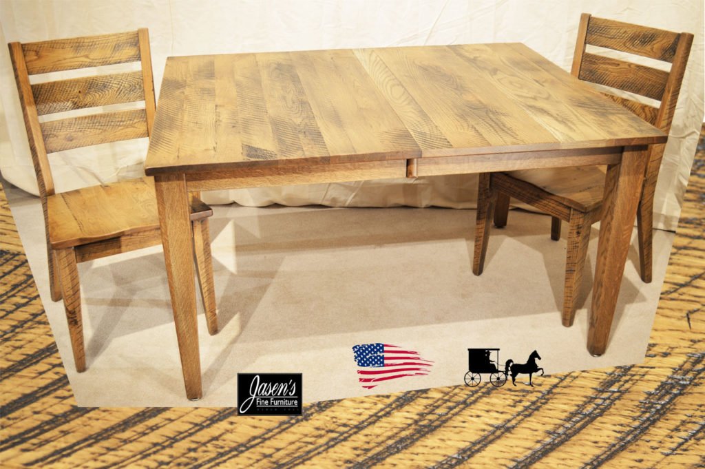 amish saw mark table