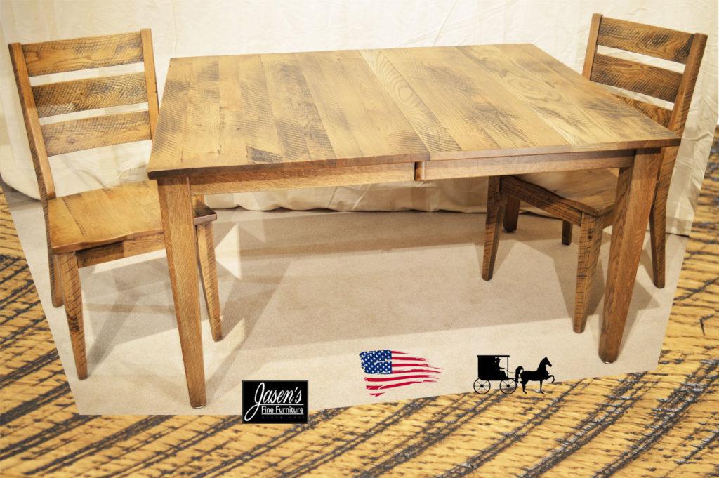 amish saw mark table