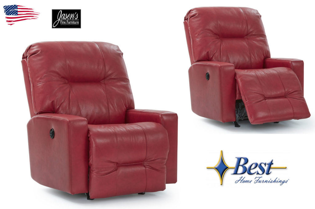 Best Kenley Leather Recliner