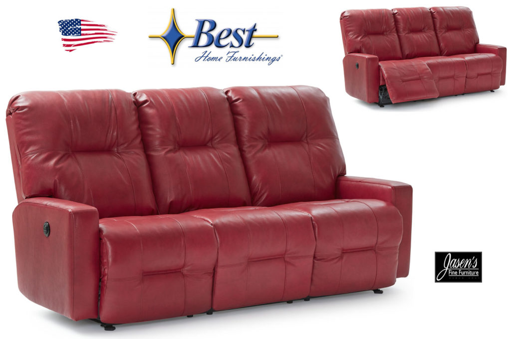 best kenley leather sofa