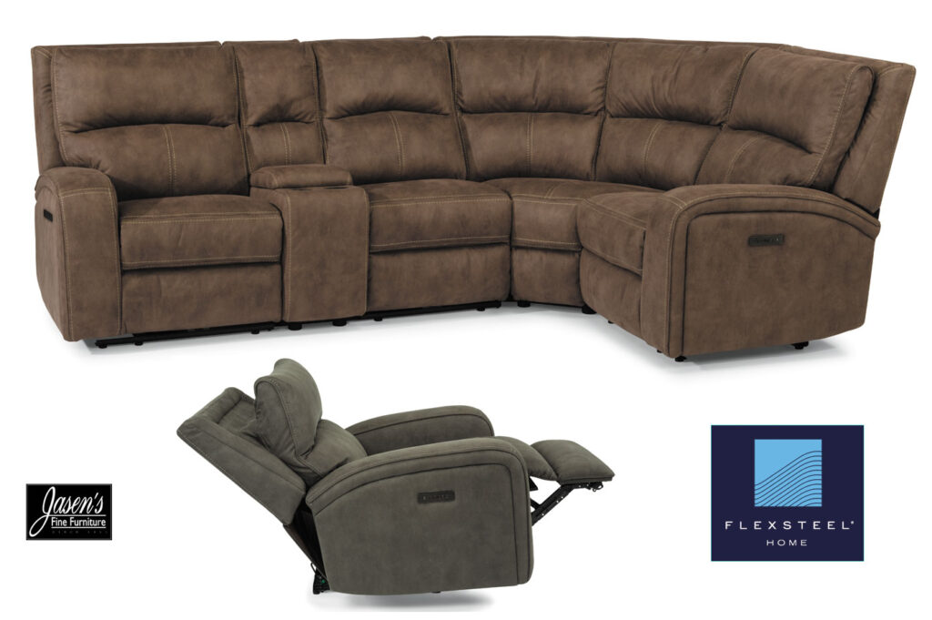 Flexsteel Nirvana sectional
